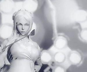 Amazing Big ass anime trap 3d porn game