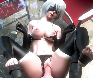 2B Bikini POV