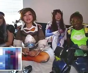 Overwatch Cosplayers react to Overwatch Hentai and are totally into it