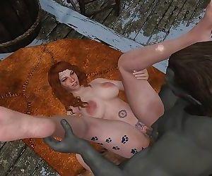 Sexy Skyrim- Dovakhin convinces sailors to trust their captain !