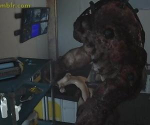 Monster Fucking Samus Aran Hardcore 3D Porn Movie