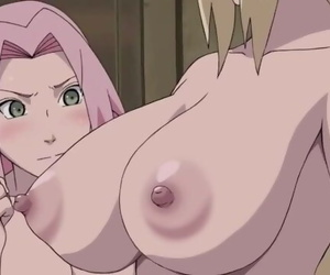 Sakura is Jealous of Tsunade's Breasts