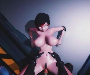 Mmd R18 SEX DANCE RWBY Ruby Rose