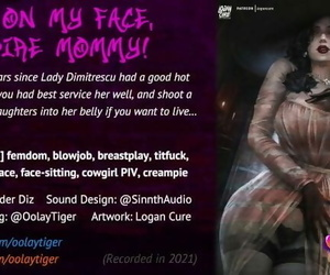 Lady Dimitrescu - Sit on my Face, Vampire Mommy! - Erotic Audio Play by Oolay-Tiger