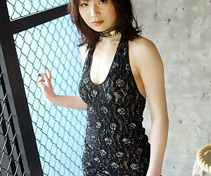 Tempting asian cutie with tiny..