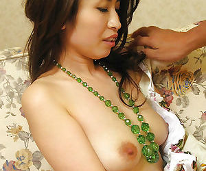Smiley asian sweetie gets her..