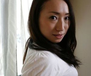 Wonderful brunette asian milf..