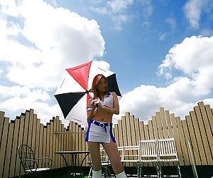 Fuckable asian cheerleader slowly..