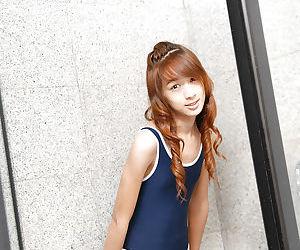Skinny redheaded Asian ladyboy..