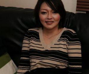 Oriental mother Mika Aoto..