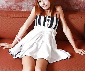 Redhead Asian ladyboy Sandy..