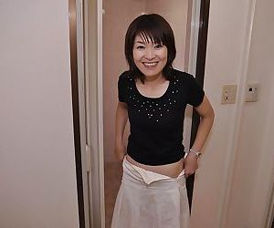 Sassy asian MILF with tiny tits..