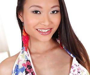 Lovely Asian babe PussyKat posing..