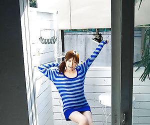 Nasty asian coed Rin Sakuragi..