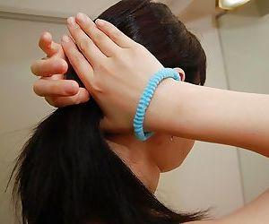 Asian bitch with dark hair Yasuko..