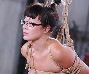 Asian sex slave Nyssa undergoes..
