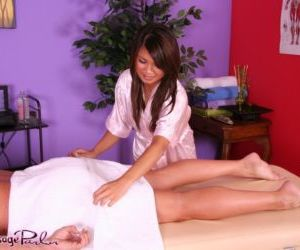 Asian massage attendant Annie Lee..