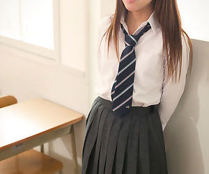Asian schoolgirl..