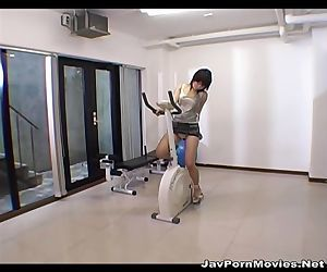 japanese girl humping..