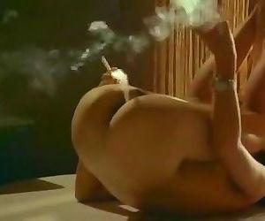 Smoking vagina