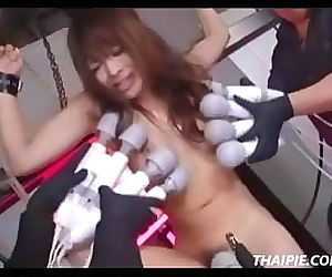 Petite Hairy Asian Teen Made To..