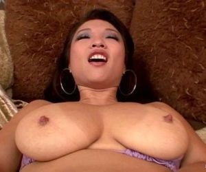 Busty Mia Rider slurps and..