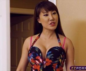 Hot asian chick got revenge on..