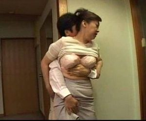 Japanese step mom milf with big..