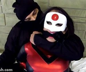 Katana Caught & Fucked by Master..
