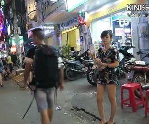 North Korean Defector Picking Up..