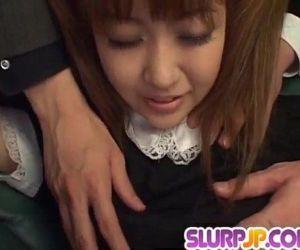 Kokoro Wakaba loves jizz in her..