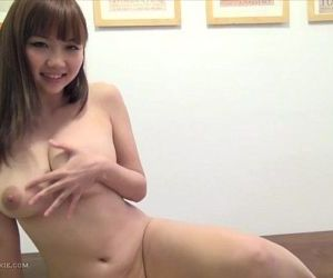 Busty, hot Japanese girl in..