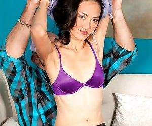 Horny Asian cougar Sahara Blue..
