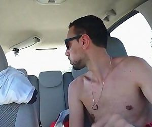 Cum In Car