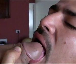 Hot latino men suck each others big uncut cocks