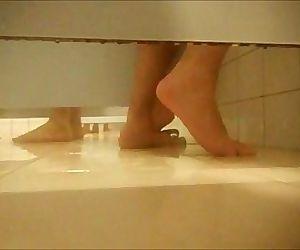 Cogida en duchas