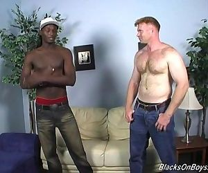 Dakota Has Some Manly Fun With A Black GuyHD