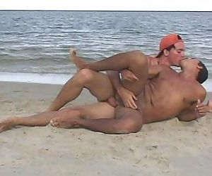 Nasty gay booys fucking in the sea