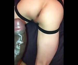 Red fucks my bubble butt deep and raw with his BBC