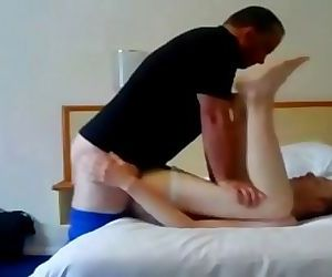 Daddy Burst my Ass with his Long Dick 10 min 720p