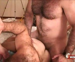 Muscle bears barebacking