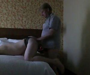 Hung Daddy Uses Bottom