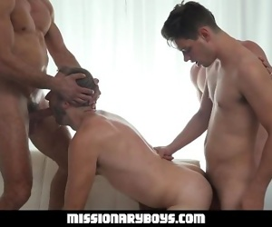 MormonBoyz - Priest Gets His Hole Destroyed By Fellow..
