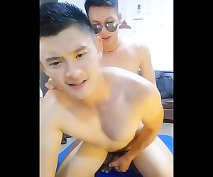 Handsome Chinese Muscle Guy Get Fucked