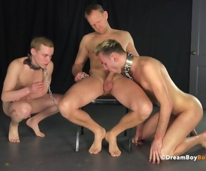 OLDER DADDY TURNS KS INTO BAREBACK MASTER & SLAVE -..