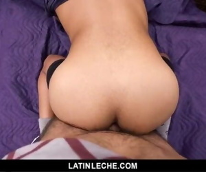 LatinLeche - Latino Gets Barebacked Outdoors