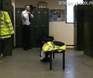 Police Station Spycam