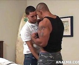 BIG LATINO MUSCLE DICK