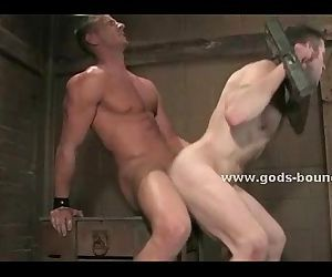 Basement prison holds men tied
