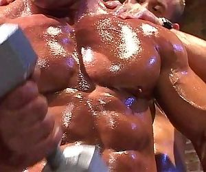 Muscle god Tom Katt worship session